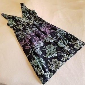 Sonoma Floral Print Dress Multicolor Size S